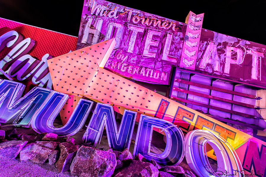 Neon Museum in downtown Las Vegas.