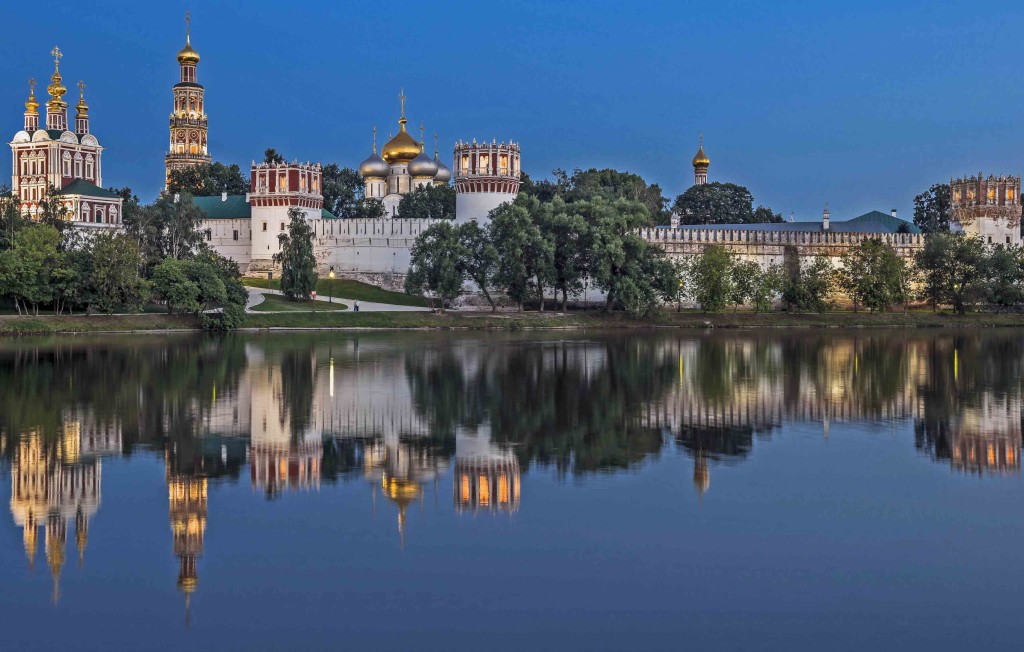 Moscow Novodevichy Monestary web ready