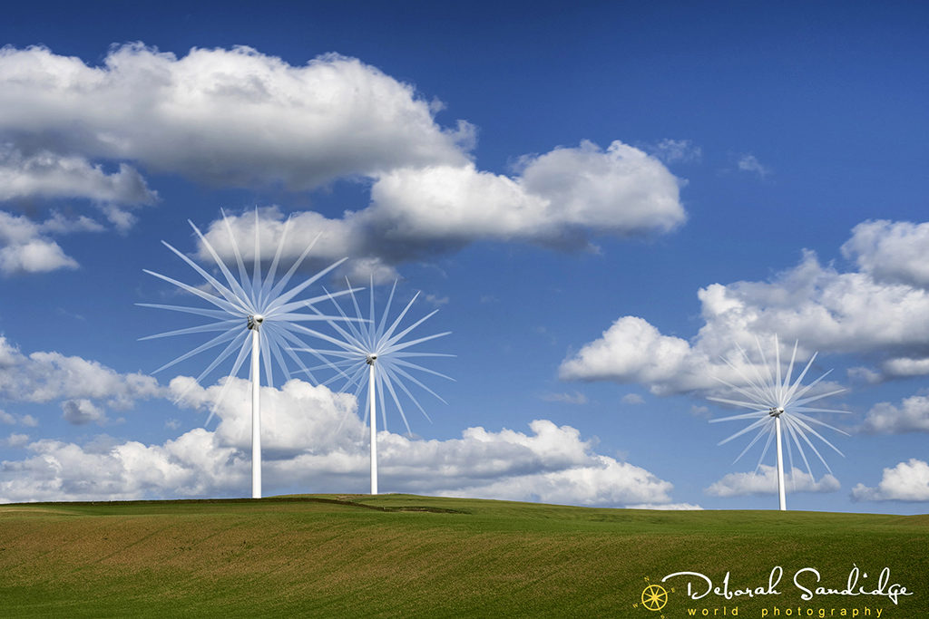 Palouse turbines multiple exposure 1